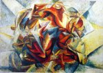 "A Dynamism Of A Soccer Player"", Umberto Boccioni"